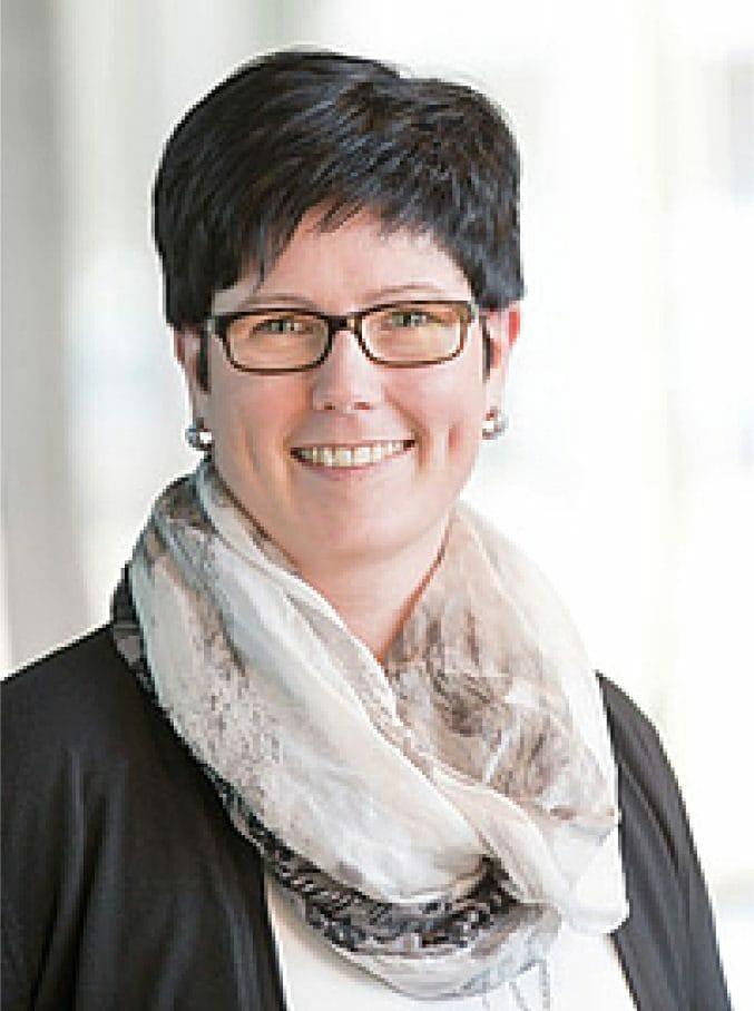 Andrea Baumgartner, Ansprechpartnerin Ausbildung